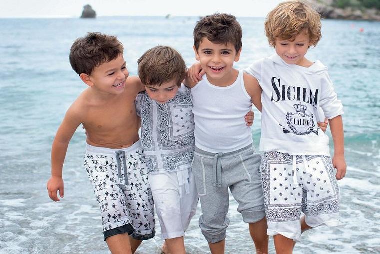 детская мода италия